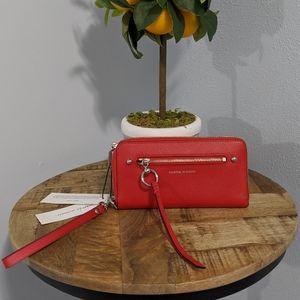 🍅 NWT Rebecca Minkoff Gabby phone wallet, tomato